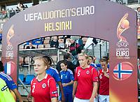 Fotball<br /> EM kvinner 2009<br /> Norge v Frankrike 1-1<br /> 30.08.2009<br /> Foto: Jussi Eskola, Digitalsport<br /> NORWAY ONLY<br /> <br /> Anneli Giske