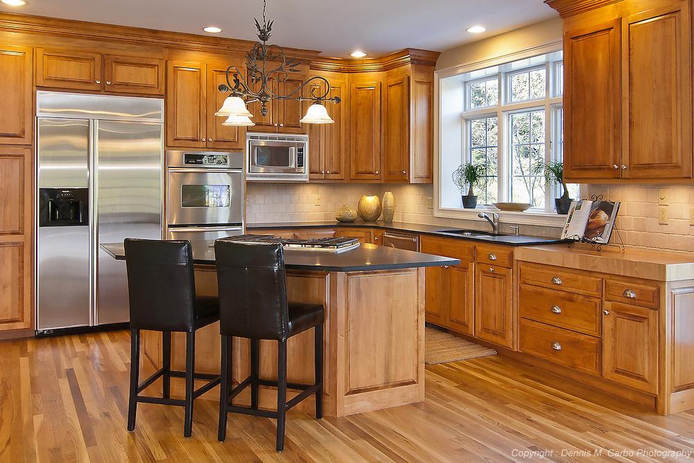 Maple Custom Kitchen in Avon, CT
