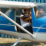 NLD/Biddinghuizen/20150822 - Cessna met open deur speciaal voor fotovluchten