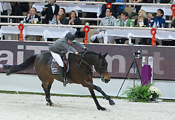 Michaels-Beerbaum Meredith (GER) - Shutterfly<br />  2nd placed in the Rolex Fei World Cup Jumping- Verona Fieracavalli 2010<br /> © Hippo Foto - Stefano Grasso