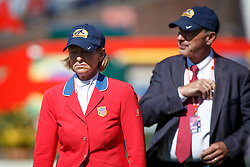 Wathelet Gregory, (BEL)Madden Beezie, (USA), Madden John, (USA) <br /> BMO Nations Cup<br /> Spruce Meadows Masters - Calgary 2015<br /> © Hippo Foto - Dirk Caremans<br /> 12/09/15