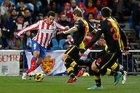 13.01.2013 SPAIN -  La Liga 12/13 Matchday 19th  match played between Atletico de Madrid vs Real Zaragoza (2-0) at Vicente Calderon stadium. The picture show Jorge Resurreccion Koke (Spanish midfielder of At. Madrid)