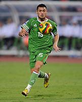Fotball<br /> Algerie<br /> 14.11.2009<br /> Egypt v Algerie<br /> Foto: imago/Digitalsport<br /> NORWAY ONLY<br /> <br /> Karim ZIANI (Algerien) am Ball