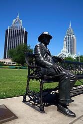 21 Apr 2013. Mobile, Alabama..Mobile,  Alabama from Cooper Riverside Park..Photo; Charlie Varley.