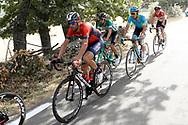 Vincenzo Nibali (ITA - Bahrain - Merida), during the UCI World Tour, Tour of Spain (Vuelta) 2018, Stage 9, Talavera de la Reina - La Covatilla 200,8 km in Spain, on September 3rd, 2018 - Photo Luis Angel Gomez / BettiniPhoto / ProSportsImages / DPPI