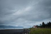 House on the edge of Resurrection Bay, Seward, Alaska