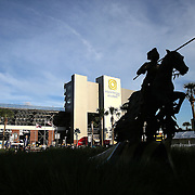 ORLANDO, FL - OCTOBER 09:  A general view of the exterior entrance of Bright House Networks Stadium on October 9, 2014 in Orlando, Florida. (Photo by Alex Menendez/Getty Images) *** Local Caption ***