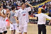 DESCRIZIONE : Berlino Berlin Eurobasket 2015 Group B Germany Germania - Italia Italy<br /> GIOCATORE : Achille Polonara<br /> CATEGORIA : Ritratto Esultanza Postgame<br /> SQUADRA : Italia Italy<br /> EVENTO : Eurobasket 2015 Group B<br /> GARA : Germany Italy - Germania Italia<br /> DATA : 09/09/2015<br /> SPORT : Pallacanestro<br /> AUTORE : Agenzia Ciamillo-Castoria/GiulioCiamillo