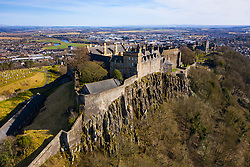 Aerial view of Stirling Castle , Stirling, Scotland UK
