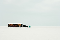 Pit Stop. Bonneville, UT. 2006<br /> <br /> Limited Edition Print from an edition of 30. Photo ©2006 Michael Lichter.