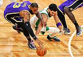 January 31, 2021 (US): NBA Lakers v Celtics Game