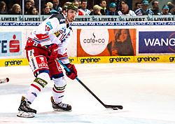 13.12.2019, Keine Sorgen Eisarena, Linz, AUT, EBEL, EHC Liwest Black Wings Linz vs HCB Suedtirol Alperia, 27. Runde, im Bild Patrick Wiercioch (HCB Suedtirol Alperia) // during the Erste Bank Eishockey League 27th round match between EHC Liwest Black Wings Linz and HCB Suedtirol Alperia at the Keine Sorgen Eisarena in Linz, Austria on 2019/12/13. EXPA Pictures © 2019, PhotoCredit: EXPA/ Reinhard Eisenbauer