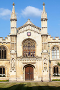 Corpus Christi College founded in 1352 by the Guilds of Corpus Christi and the Blessed Virgin Mary, Cambridge University, Cambridge, United Kingdom.