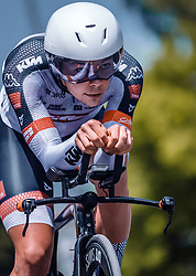 06.07.2019, Wels, AUT, Ö-Tour, Österreich Radrundfahrt, Prolog, Einzelzeitfahren (2,5 km), im Bild Mario Gamper (Tirol KTM Cycling Team, AUT) // during the prolog, Individual time trial (2,5 Km) of the 2019 Tour of Austria. Wels, Austria on 2019/07/06. EXPA Pictures © 2019, PhotoCredit: EXPA/ JFK