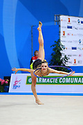 Laura Jung was born 25 June 1995 in St. Wendel, Germany is a German retired individual rhythmic gymnast.