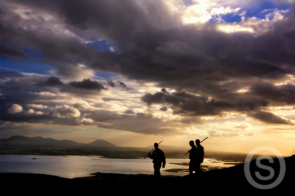 Photographer: Chris Hill, Clew Bay, Croagh Patrick, County Mayo