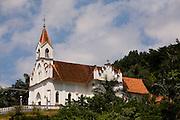 Santa Leopoldina_ES, Brasil...Igreja da Matriz em Santa Leopoldina...Mother church in Santa Leopoldina...Foto: LEO DRUMOND / NITRO