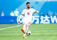 Alireza Jahanbakhsh (Iran)<br /> Saint Petersburg 15-06-2018 Football FIFA World Cup Russia  2018 <br /> Morocco - Iran / Marocco - Iran <br /> Foto Matteo Ciambelli/Insidefoto