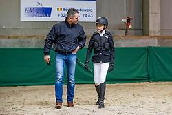 Ceyssens Lode, Ceyssens Elise<br /> Nationaal Indoor Kampioenschap Pony's LRV <br /> Oud Heverlee 2019<br /> © Hippo Foto - Dirk Caremans<br /> 09/03/2019