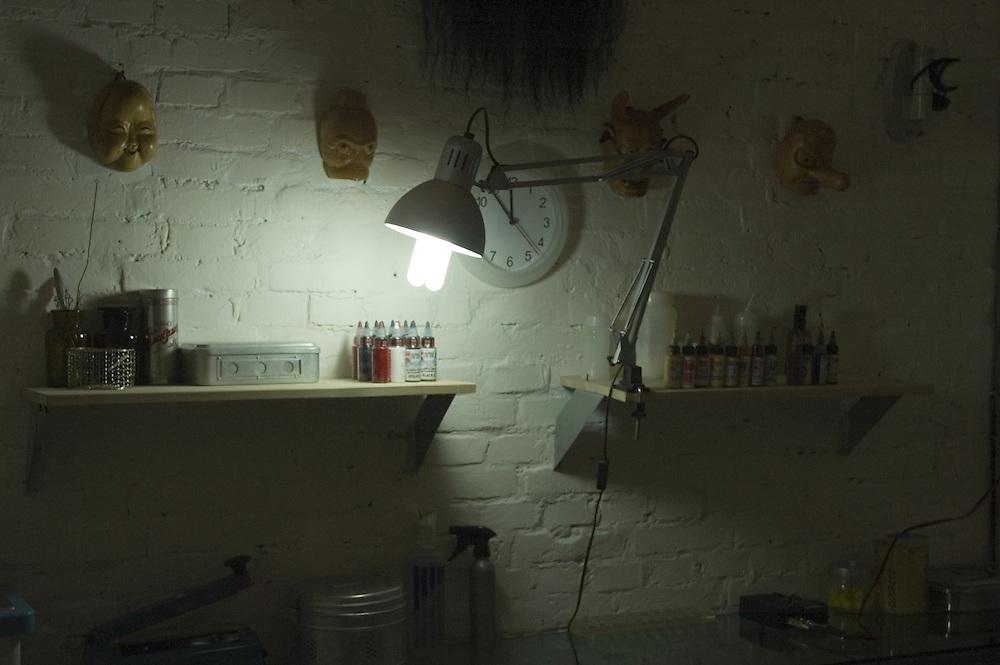 Workshop interior, Beijing<br />