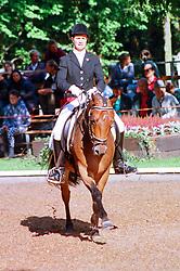 , Warendorf - Bundeschampionate 03. - 08.09.1996, Charlie Chuckles - Lenk, Cornelia