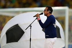 Jorge Bem Jor canta na cerimônia de encerramento da Copa das Confederações 2013, no estádio do Maracanã, no Rio de Janeiro,  FOTO: Jefferson Bernardes/Preview.com