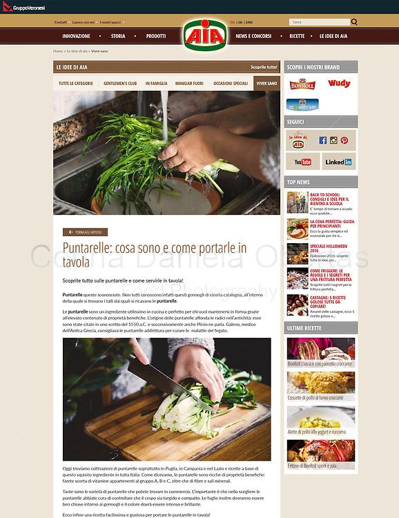 AIA - Agricola Italiana Alimentare S.p.A. - Le ricette di AIA - Puntarelle: cosa sono e come portarle in tavola
