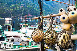 Harbor detail, Heda Port, Shizuoka Prefecture,  Izu Peninsula, Japan