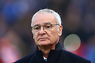 Leicester City Manager Claudio Ranieri looks on prior to kick off. Premier league match, Stoke City v Leicester City at the Bet365 Stadium in Stoke on Trent, Staffs on Saturday 17th December 2016.<br /> pic by Chris Stading, Andrew Orchard sports photography.