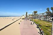Huntington Beach Boardwalk from Pier