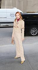 Kate Bosworth is seen at NBC Studios - 06 Dec 2018