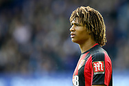 Nathan Ake of Bournemouth looks on. Premier league match, Everton vs Bournemouth at Goodison Park in Liverpool, Merseyside on Saturday 23rd September 2017.<br /> pic by Chris Stading, Andrew Orchard sports photography.