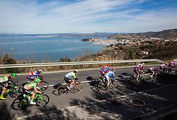Peloton during the UCI Class 1.2 professional race 4th Grand Prix Izola, on February 26, 2017 in Izola / Isola, Slovenia. Photo by Vid Ponikvar / Sportida