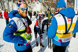 February 2, 2018 - Goms, SWITZERLAND - 180202 Eirik Sverdrup Augdal of Norway after the men's 15/15 km skiathlon during the FIS U23 Cross-Country World Ski Championships on February 2, 2018 in Obergoms..Photo: Vegard Wivestad GrÂ¿tt / BILDBYRN / kod VG / 170096 (Credit Image: © Vegard Wivestad Gr¯Tt/Bildbyran via ZUMA Press)