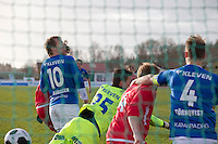 1. divisjon fotball 2014: Hødd - Tromsdalen. 1-1 går inn i 1. divisjonskampen mellom Hødd og Tromsdalen på Høddvoll.