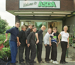 Pit Stop youth project based in Chapeltown got together with thier local  Asda recently to give some of the youths a taste of a real working environment.  Pictured are  Peter Farley-Moore (far Left) and Pat Booth (far right)  of Pitstop , with Local Youths from left to right Adam Armstrong, James Worthington, Ben Harris, Robert Stevenson and Simon Kay with Margaret Elliott of Asda (center).