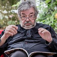 Nederland, Utrecht, 30 mei 2017.<br /> Maarten van Rossem is een Nederlands historicus. Hij is gespecialiseerd in de geschiedenis en politiek van de Verenigde Staten.<br /> <br /> Foto: Jean-Pierre Jans