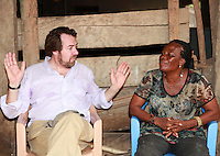 Today marks the 25th annive Jonathan Ross visits the African Women's Development Fund in the in Accra, next to Jonathan Ross is Comfort Zormelo a beneficiary of Comic Relief in Ghana. Jonathan Ross is in Ghana with Comic Relief to mark the 25th anniversary of Red Nose Day. Thirteen Red Nose Days later it has raised over £600million and over the last 25 years that money will have helped 50 million people across Africa, the world's poorest countries and here in the UK. Keep up the good work. rednoseday.com ©Christian Thompson