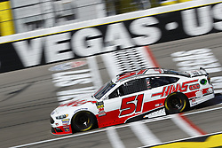 March 2, 2018 - Las Vegas, Nevada, United States of America - March 02, 2018 - Las Vegas, Nevada, USA: Cole Custer (51) brings his race car down the front stretch during practice for the Pennzoil 400 at Las Vegas Motor Speedway in Las Vegas, Nevada. (Credit Image: © Chris Owens Asp Inc/ASP via ZUMA Wire)