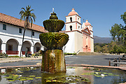 Fountain at Santa Barbara Mission