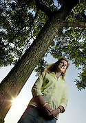 LOC/ Ottawa / May 30, 2006..Dana Fergusson is pictured at her home in Orleans, Ottawa on Tuesday, May 30, 2006. Fergusson who survived skin cancer 16 years ago at the age of 21 spoke in Ottawa today about sun protection on behalf of the Canadian Cancer Society. (Ottawa Sun Photo By Sean Kilpatrick)
