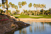 The 8th hole on the Canyon Golf Course at the Phoenician Resort in Scottsdale, Arizona.