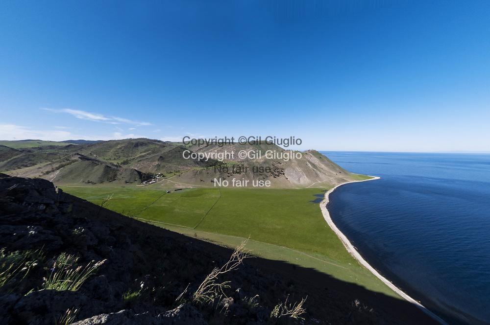 Russie, Sibérie, côte ouest du lac Baïkal, baie de Kestrovaya // Russia, Siberia, west coast of Baikal lake, Kestrovaya bay