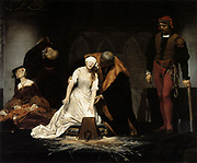 The Execution of Lady Jane Grey' by Paul Delaroche  1833; Oil on canvas