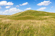 Adam's Grave prehistoric neolithic long barrow, Alton Barnes, Wiltshire, England, UK