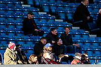 Middlesbrough fans before the match<br /> <br /> Photographer Craig Mercer/CameraSport<br /> <br /> Football - The Football League Sky Bet Championship - Millwall v Middlesbrough - Saturday 6th December 2014 - The Den - London<br /> <br /> © CameraSport - 43 Linden Ave. Countesthorpe. Leicester. England. LE8 5PG - Tel: +44 (0) 116 277 4147 - admin@camerasport.com - www.camerasport.com