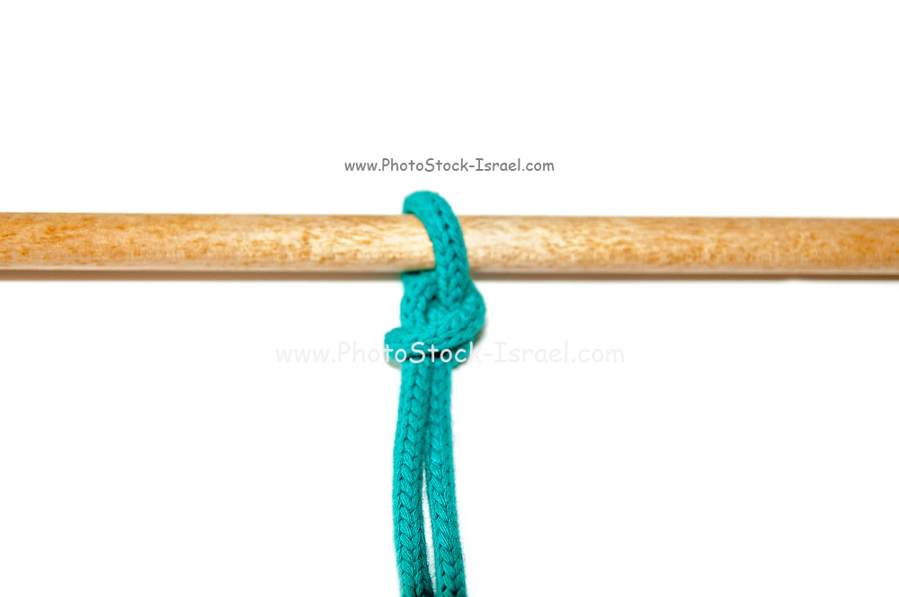 The Buntline Hitch was originally employed to secure the buntlines to the foot of the square sails. Repeated shaking and jerking by a flapping sail tended to tighten this knot - hence its value.