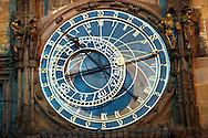 clock on the Old Town Hall - Prague - Czech Republic