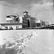 Snow, but even our ancestors celebrated this Event at the Dublin Airport. Irish Photo Archive has unique pictures of this Event to show you what happened.