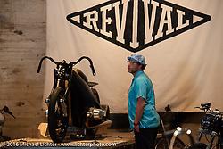 Revival Cycles BMW Landspeeder on display Handbuilt Motorcycle Show. Austin, TX, USA. April 10, 2016.  Photography ©2016 Michael Lichter.